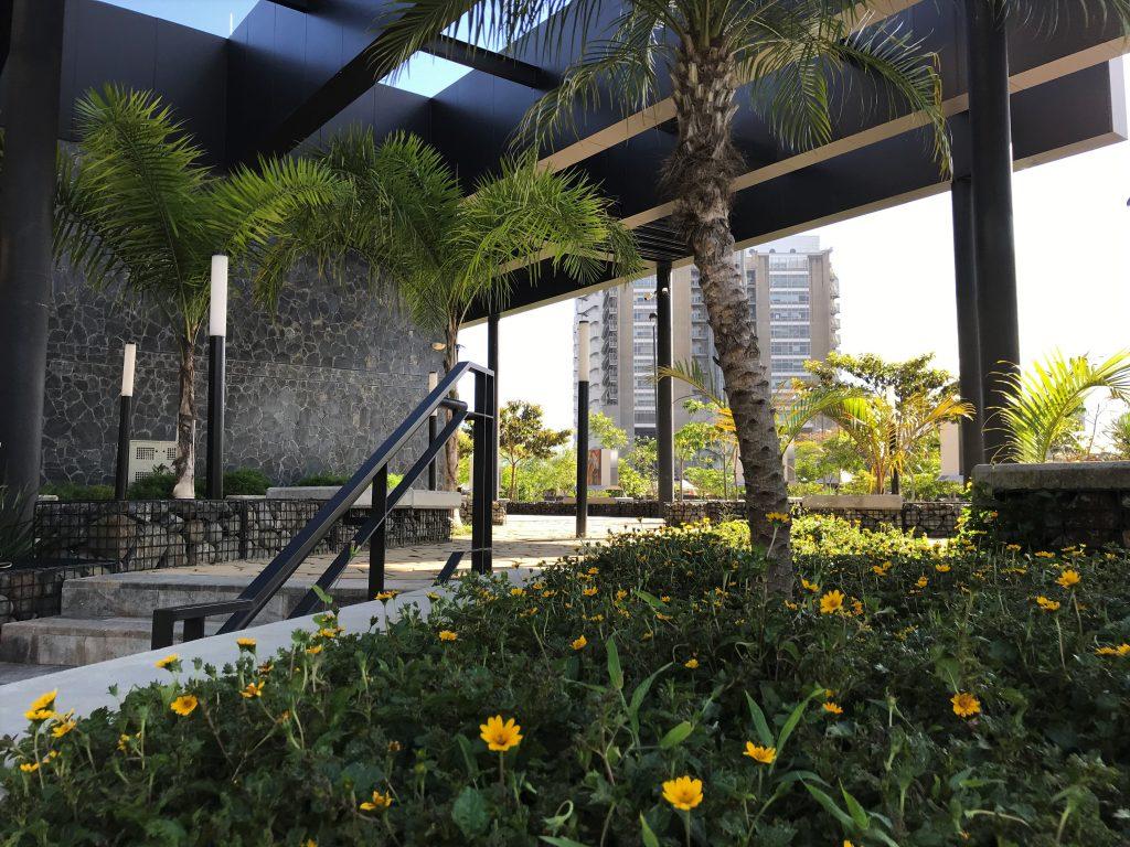 open air building